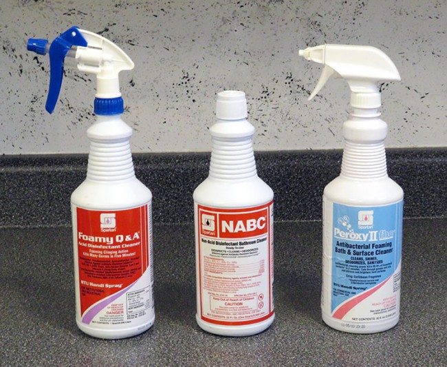 Acme Janitor - Cleaning Chemicals