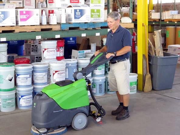 Acme Janitor equipment - floor buffer